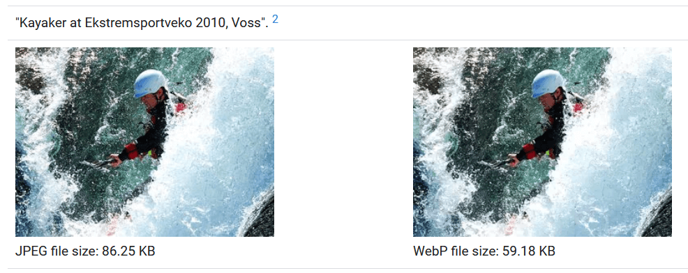 WebP снимки в WordPress